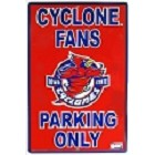 Iowa State Cyclone Large Parking Sign