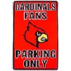 University of Louisville Cardinals Large Parking Sign