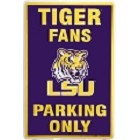 Louisiana State Tigers Large Parking Sign