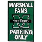 Marshall University Herd Large Parking Sign