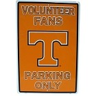 University of Tennessee Volunteers Fans Large Parking Sign