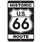 Route 66 Sm. Parking Sign