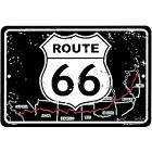 Route 66 Map Sm. Parking Sign