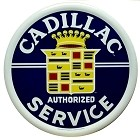 Cadillac Service Round Sign