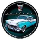 Ford Fairlane Round Sign