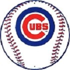 Chicago Cubs Round Sign