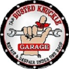 Busted Knuckle Round Sign