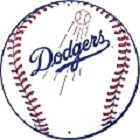 Los Angeles Dodgers Round Sign