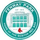 Boston Red Sox Fenway Park Round Sign