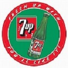 7Up You'll Like It Round Sign