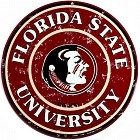 Florida State Round Sign