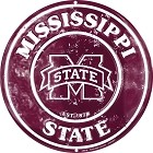 Mississippi State  Round Sign