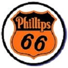 Oil - Phillips 66 Round Sign