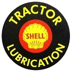 Oil - Shell Motor Round Sign