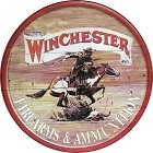 Winchester Express Round Sign