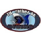 Rather Be Diving Sticker
