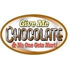 Give Me Chocolate Small Sticker