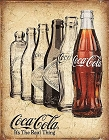 Coca-Cola the Real Thing Metal Tin Sign