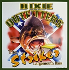 Largemouth Bass Strike Metal Sign