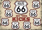 Route 66 Shield Magnet