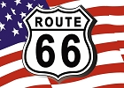 USA Route 66 Magnet