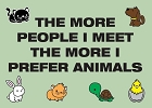 Prefer Animals Magnet