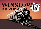 Az Train - Winslow Magnet