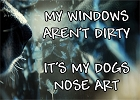 Dog Nose Art Magnet