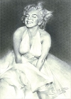 Marilyn Laughing Magnet