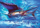 Marlin Fish Magnet