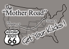 Mother Road Route 66 Magnet