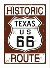 Route 66 Historic Texas Magnet