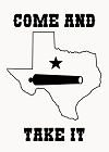 Texas Take It Magnet