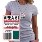 Area 51 Special ID Necklace