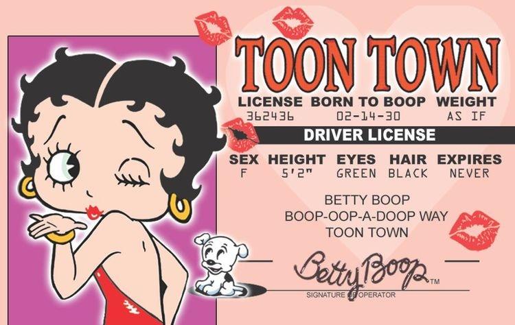 Signs 4 Fun Nbidlv Betty Slotss Drivers License