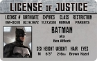 Batman - Ben Affleck ID