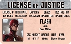 The Flash - Ezra Miller ID