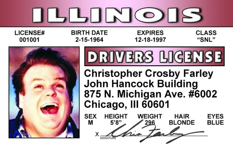 Chris Farley ID