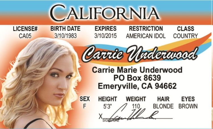 Carrie Underwood ID
