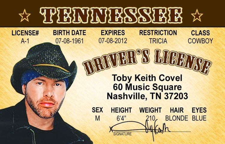 Toby Keith ID