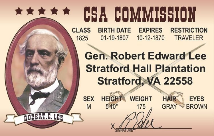 Robert E Lee ID