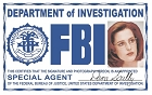 Scully FBI ID