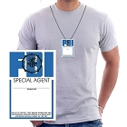 Fake FBI ID Necklace