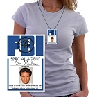 Mulder FBI Necklace ID