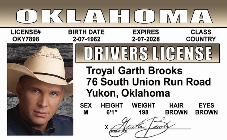 Garth Brooks ID