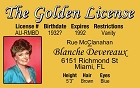 Golden Girls - Blanche ID