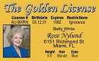 Golden Girls - Rose ID