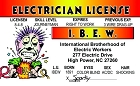 Electrician ID