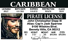 Depp Pirate ID