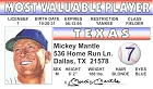 Mickey Mantle ID